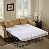 Holden Waterproof Sofa Bed Mattress Protection Pad with 3M Scotchgard Moisture Management - Hypoallergenic Microfiber - 60' x 72' - All Over Elastic Mattress Pad - Sleep Philosophy