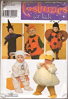 Simplicity Costumes for Kids - 4007