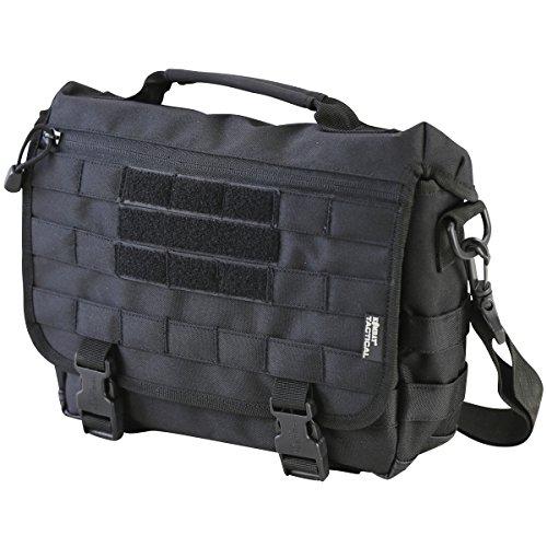 Kombat UK Small Messenger Tasche, schwarz, Einheitsgröße