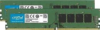 Crucial RAM 16GB Kit (2x8GB) DDR4 3200 MHz CL22 Desktop Memory CT2K8G4DFRA32A