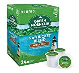 Keurig Coffee Pods K-Cups 16 / 18 / 22 / 24 Count Capsules ALL BRANDS / FLAVORS (24 Pods Green Mountain - Nantucket Blend)