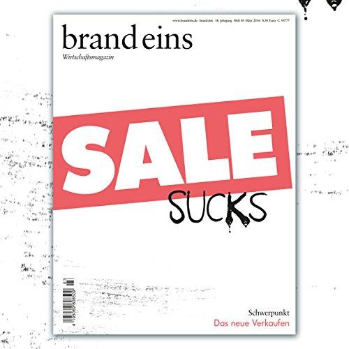 brand eins audio: Das neue Verkaufen Titelbild