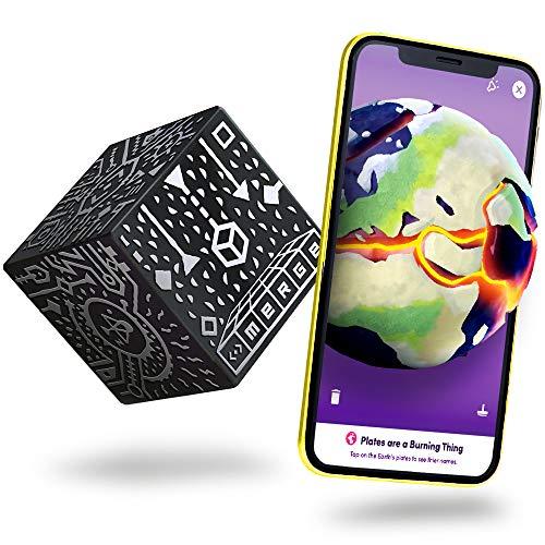 MERGE Cube (EU Edition): Hold a Hologram, Works with VR/AR Goggles e include giochi AR gratuiti e app nelle lingue locali. Compatibile con iOS e Android