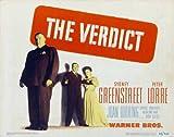 The Verdict POSTER Movie (22 x 28 Inches - 56cm x 72cm) (1946) (Half Sheet Style...