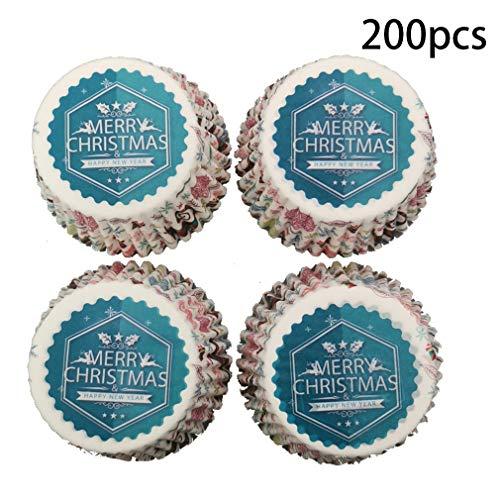 XFEOMBQ Wegwerpbekers, veilig gebruik van inkt en papier waterdichte papieren bekers, kopjes, taarten, muffins, cupcakes en snoepjes
