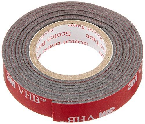 エーモン 超強力両面テープ PP・軟質塩ビ対応 幅10mm×長さ1m×厚さ1.14mm 1749