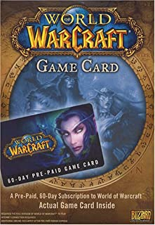 World of Warcraft 60 Day Pre-Paid Time Card - PC/Mac (B00063BLG8) | Amazon price tracker / tracking, Amazon price history charts, Amazon price watches, Amazon price drop alerts