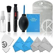 CamKix Cleaning Kit - Pack de limpieza de equipos fotográficos (Canon, Nikon, Pentax, Sony) sin fluido de limpieza