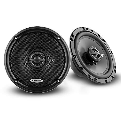 "Black Diamond Dia-65.2 6.5"" Coaxial Speaker 2 Way 120 Watts 4-Ohm (Sold in Pairs)"