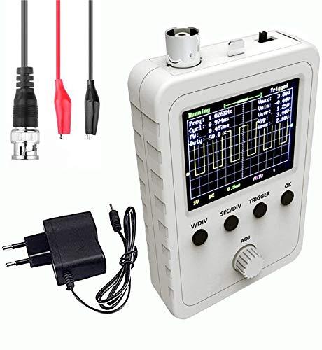 YEZIB Accesorios electrónicos de Bricolaje, Ensamblado DSO-Shell DSO150 Módulo de osciloscopio Digital 9