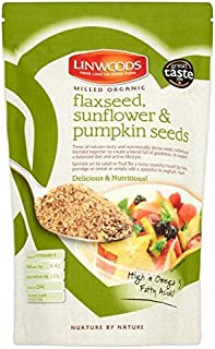 Linwoods Milled Organic Flaxseed, Sunflower & Pumpkin Seeds - 425g (0.94lbs)