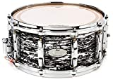 """Pearl Music City Custom Reference Snare Drum - 14"""" x 6.5"""" - Black Oyster Glitter"""