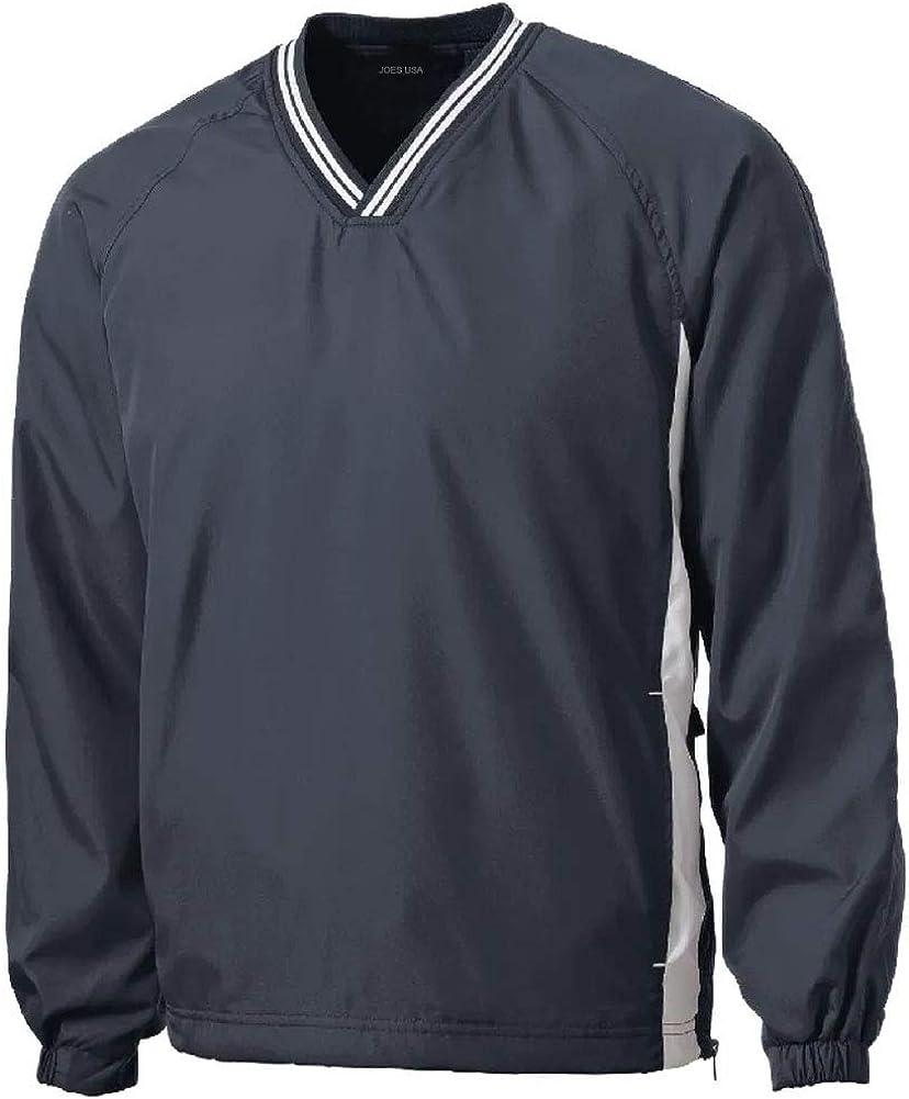Joe's USA - Max 73% OFF Men's Athletic All Wind i V-Neck Shirts Bargain sale Sport Raglan