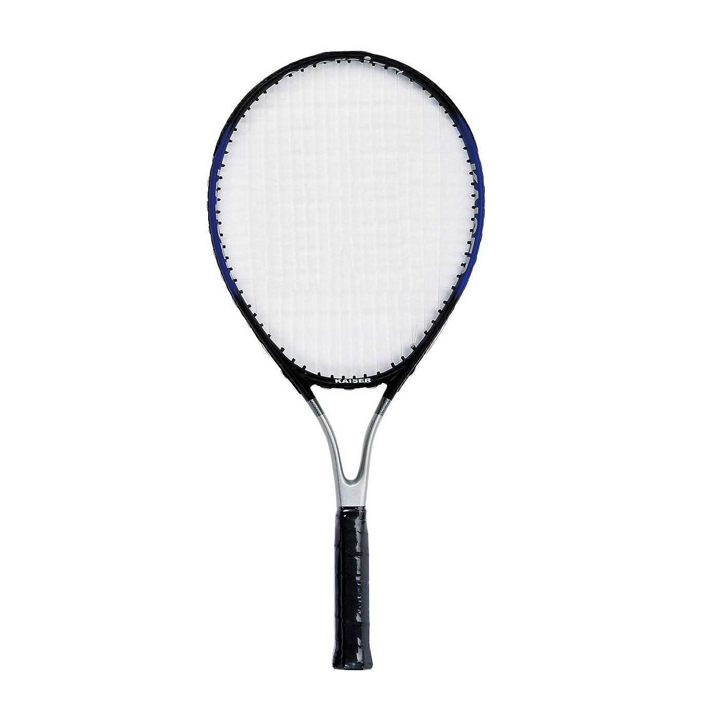 卑しい王位ホバーKaiser(カイザー) 硬式 テニス ラケット KW-928 一体成型 ケース付 練習用