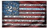DFLIVE 2nd Stars & Stripes Flag 3 ft by 5 ft Designed in USA 3x5 Vintage American Flag