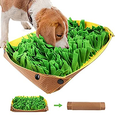 Amazon - 40% Off on Snuffle Mat for Dogs – Pet Interactive Nosework Feeding Mat for Indoor & Outdoor