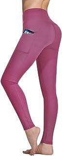 Occffy Leggings Fitness Donna Allenamento Opaco Vita Alta Yoga Palestra Leggins Sportivi Pantaloni DS166