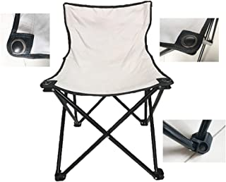 Smartmak Fast Folding Chair, Reinforced, Suitable for Sauna, Beach and Picnic - Grey