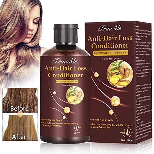 Apres Shampoing Cheveux, Hair Conditioner, Masque Capillaire, Anti Chute Cheveux, pour la Pousse des Cheveux, La kératineRépare les Dommages et aide à Retrouver les Cheveux Clairsemés