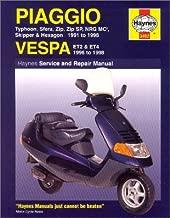 Piaggio Sfera, Typhoon, Zip, Zip SP, Skipper, Hexagon and Vespa ET2 & ET4 Service & Repair Manual: 1991-1997 (Haynes Service & Repair Manuals)