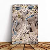 BIG Box Kunstdruck auf Leinwand, Motiv William Blake