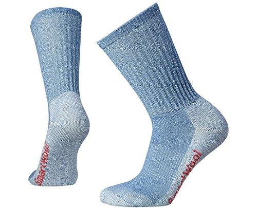 Smartwool Damen Hike Light Crew Socks, Blau (Blue Steel), M