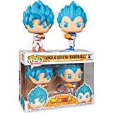 Funko Pop Animation: DBS– Goku & Vegeta (Baseball) 2PK (Exc)...