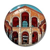聖アンブロジオのイタリアミラノ大聖堂冷蔵庫マグネットホワイトボードマグネットオフィスキッチンデコレーション