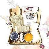 Seife selber machen, DIY Set von spreetherm inkl. veganer Kernseife, Bio-Seifenbeutel uvm.