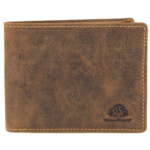 Greenburry Vintage portafoglio pelle 12,5 cm brown