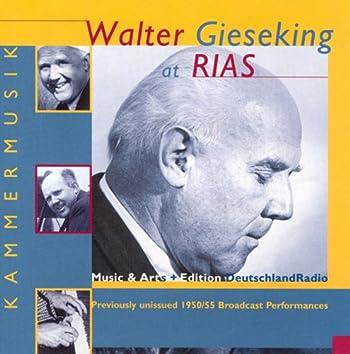 Piano Music - Mozart, W.A. / Mendelssohn / Beethoven / Debussy / Ravel / Schubert, F. / Schumann, R. / Brahms / Scriabin (Gieseking) (1950, 1955)