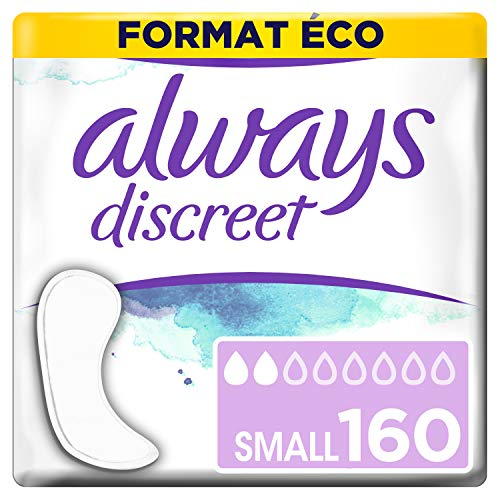Always Discreet 0% Binden bei Blasenschwäche Small Format Eco, 160 Stück