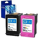 Best Remanufactured Ink Cartridges - ESTON Remanufactured Replacements for HP 64XL Ink Cartridges Review