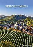 Baden-Württemberg 2021 - Bild-Kalender 24x34 cm - Regional-Kalender - Wandkalender - mit Platz für Notizen - Alpha Edition