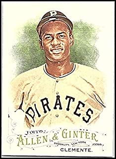 2016 Allen and Ginter #320 Roberto Clemente Pirates MLB Baseball Card (SP - Short Print) NM-MT