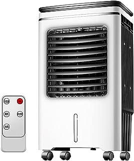 Bärbar avdunstningsluftkylare, liten personlig luftkonditionering med fjärrkontroll vit 50 l vattentank fylla på vatten, 4...