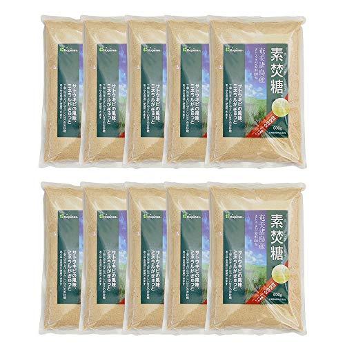【まとめ買い】砂糖 素焚糖 大東製糖 600g x10