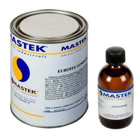 MASTEK Eurofix Neopreen lijm en verharder, 350 g + 30 g