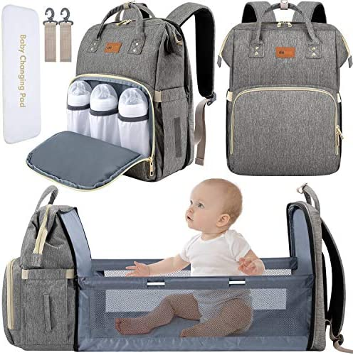 DEBUG Baby Diaper Bag Backpack with Changing Station Diaper Bags for Baby Bags for Boys Diaper product image