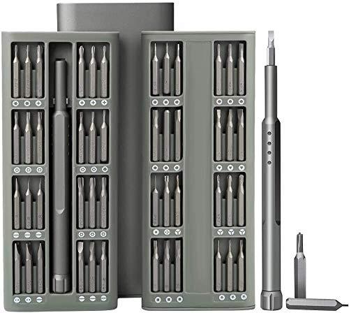 SOONAN 48 en 1 destornilladores profesionales de precisión magnética de aluminio para iPhone, MacBook Pro, Xiaomi, iPad, PC, cámaras, juguetes electrónicos, relojes