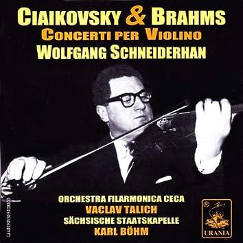 Tchaikovsky & Brahms: Violin Concertos