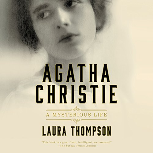Agatha Christie audiobook cover art