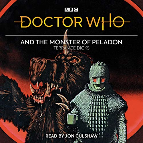 Doctor Who and the Monster of Peladon cover art