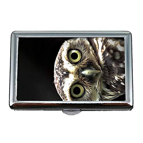 Zigarettenetui/Box, eine Eule oder eine Eule iPhone Hintergründe Hintergrundbild HD für Mobile Tapeten hd, Visitenkartenetui Visitenkartenetui Edelstahl
