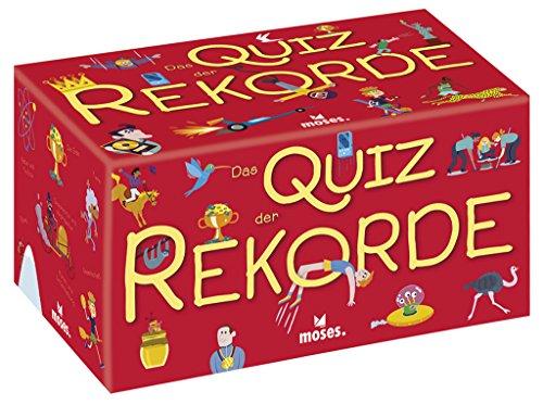 Moses 90253 90253-Das Quiz der Rekorde, Spielwaren