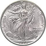 1944 Walking Liberty Half Dollar About Uncirculated US Mint
