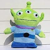 QIXIDAN Juguete Suave 30cm Toy Story Peluche Enano Verde Squeeze Alien Peluche Suave Regalo para niños