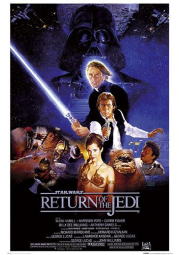 empireposter - Empire 210807 Star Wars - Return Of The Jedi Prince - Poster Druck - 61 x 91.5 cm