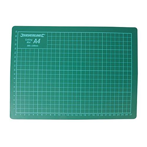 Silverline 438935 Plancha de corte Verde