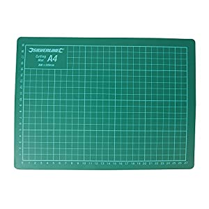Silverline 438935 Plancha de corte, Verde